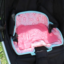 Close Car Seat Protector - Russian Doll